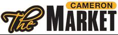 A theme logo of The Cameron Market